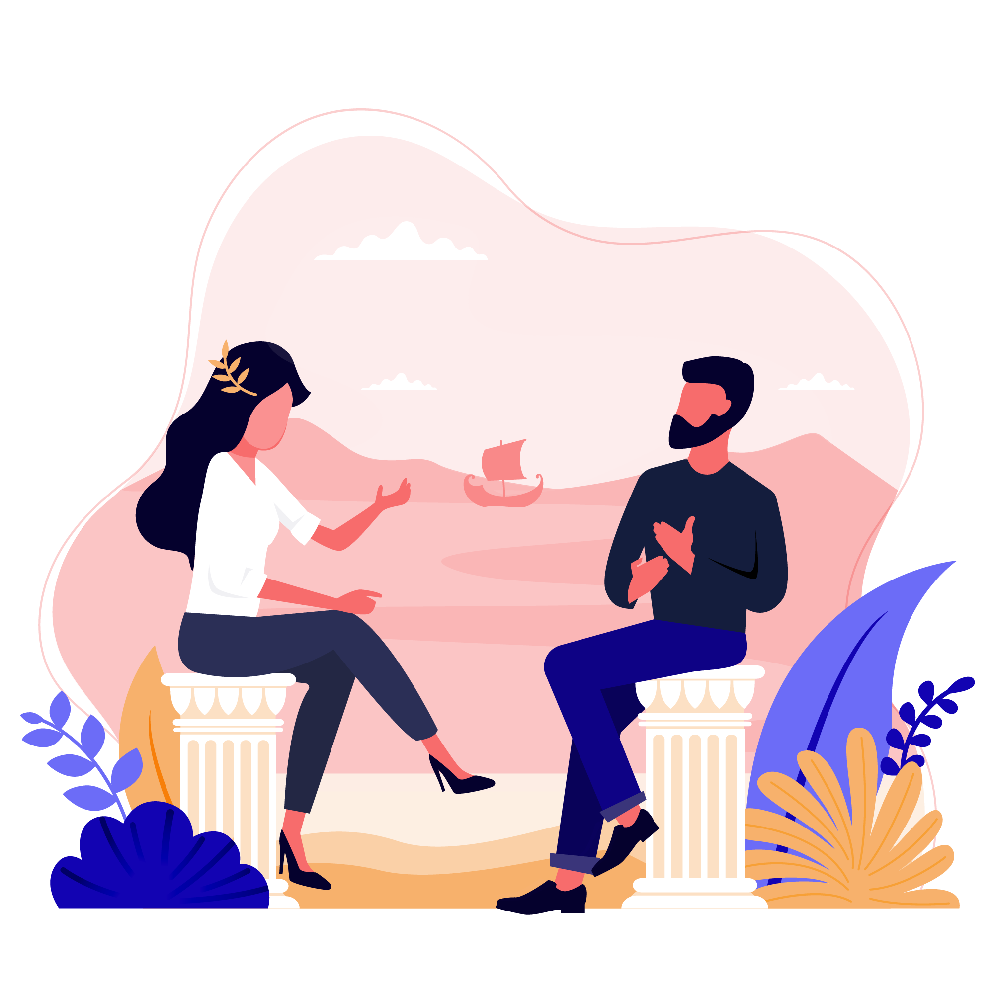 Motivational Interview illustration