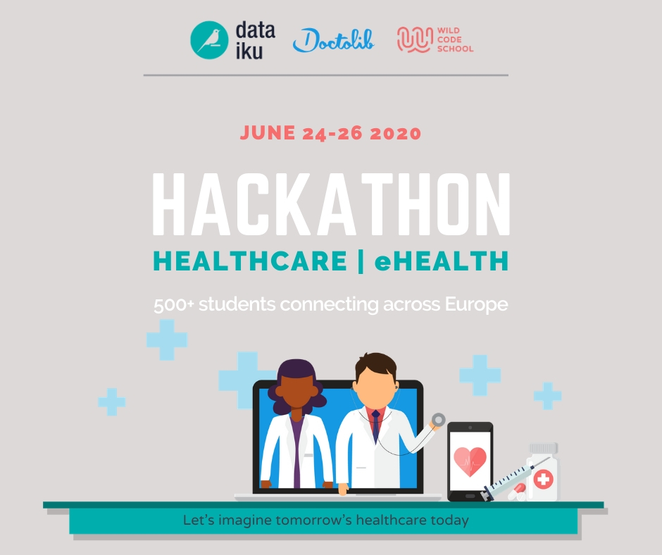 An online hackathon tackling challenges in e-health and telemedicine